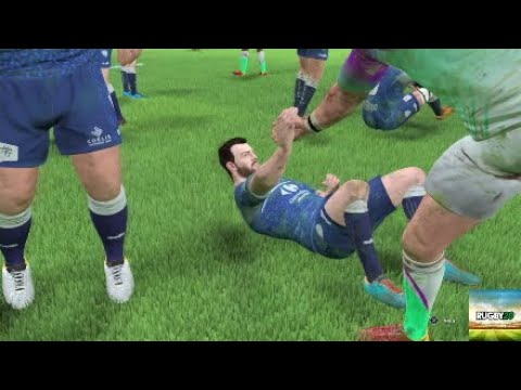 First Ultimate team game (Rugby 20)  