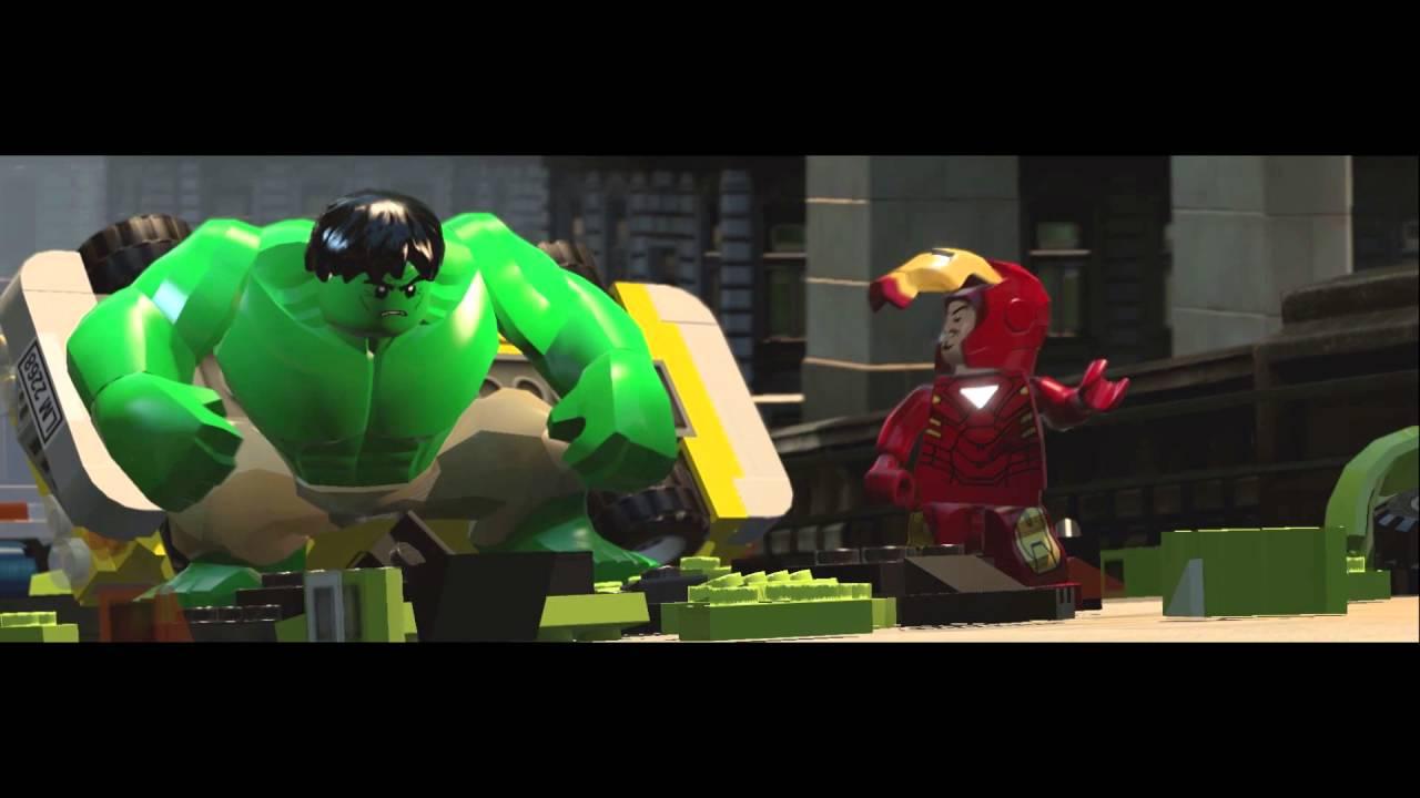 Халк Железный человек Мерзость Человек  паук Лего игрушки развлечение