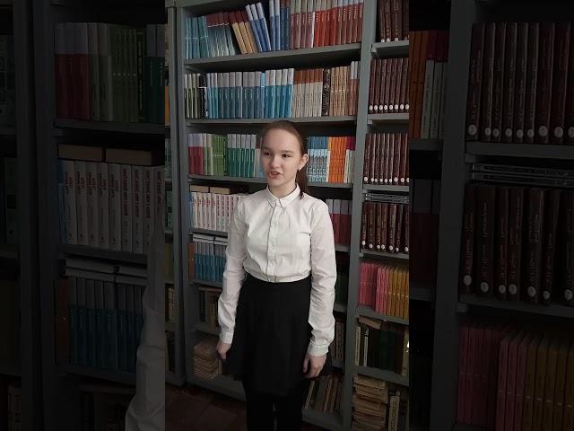 Изображение предпросмотра прочтения – АлександраГоловушкина читает произведение «Девушка пела в церковном хоре» А.А.Блока