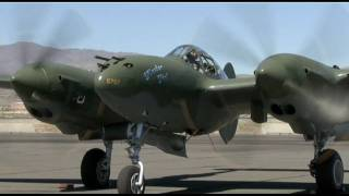GLACIER GIRL ROCKS!  P-38 Lightning at the Reno Air Races