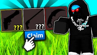 I spent Robux to unbox the RAREST weapons in Roblox..