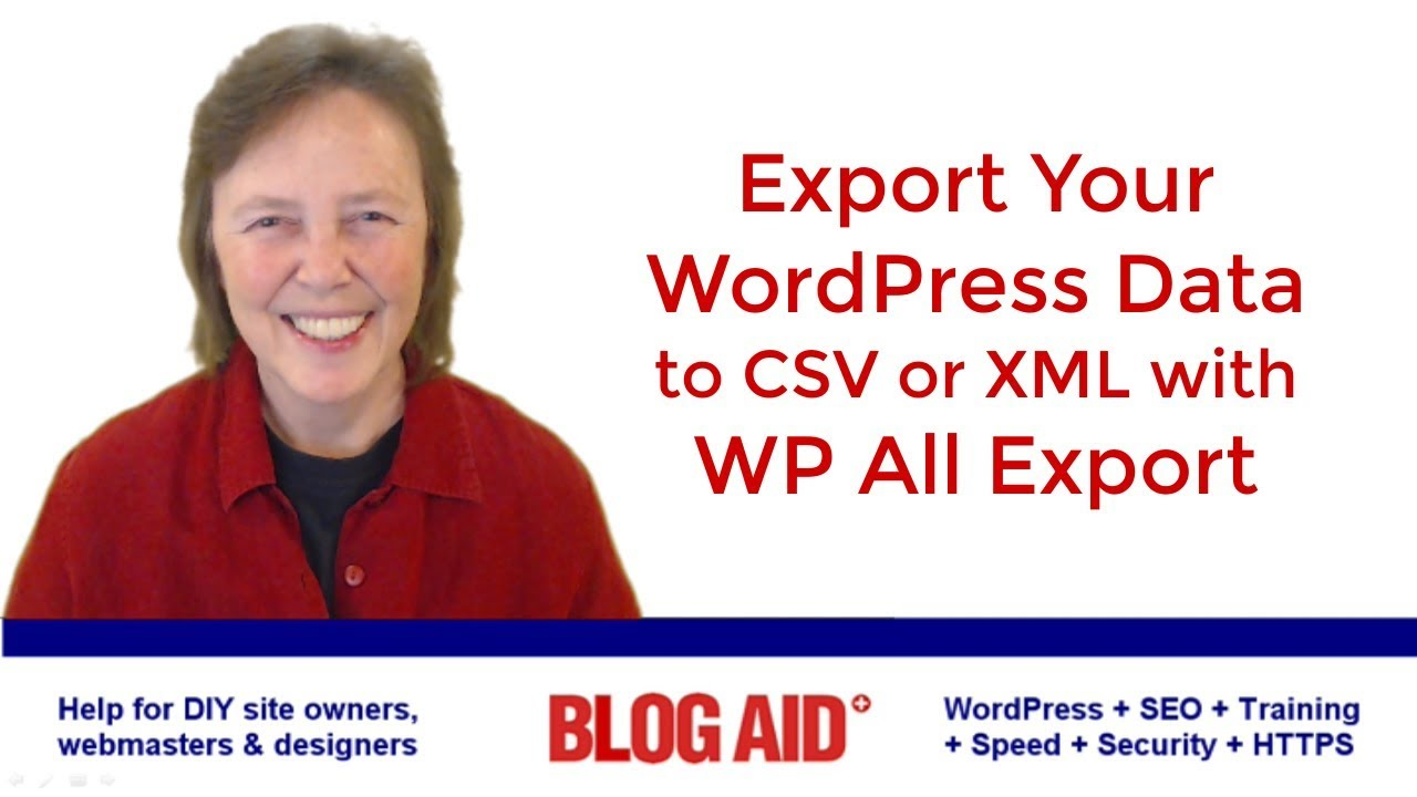 Export WordPress Data to a CSV with WP All Export