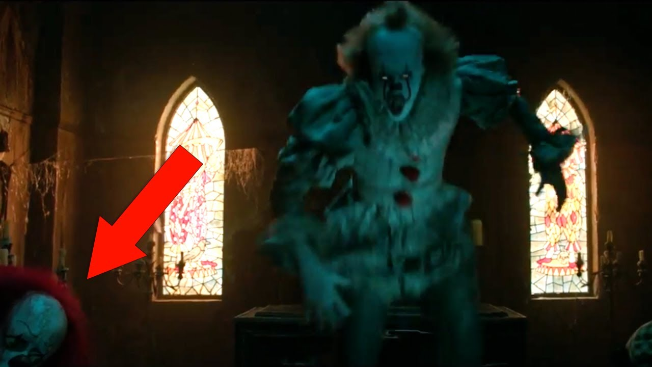 It 2017 Official Trailer 1 Breakdown Easter Eggs Youtube