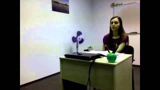 Урок английского языка для детей 9-11 лет Los Angeles English School