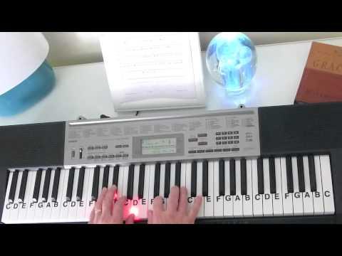 How to Play ~ Evil Ways ~ Santana ~ LetterNotePlayer ©