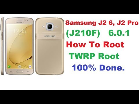 Samsung J2 Pro (J210F) How To Root, TWRP Root Method 100% Done