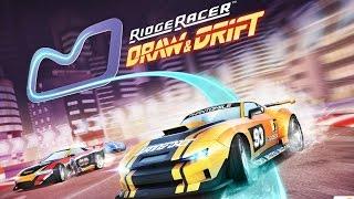 Ridge Racer Draw And Drift (BANDAI NAMCO) - Android Gameplay HD