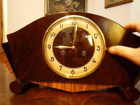 Junghans Art Deco Mantel Clock 1930