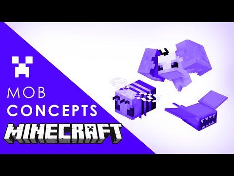 Minecraft 1.15 Mobs Concepts, Kraken Boss, Owls & Orcas?
