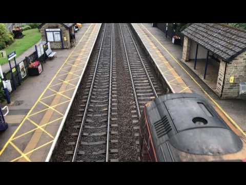 Trains at Dronfield 27/07/17