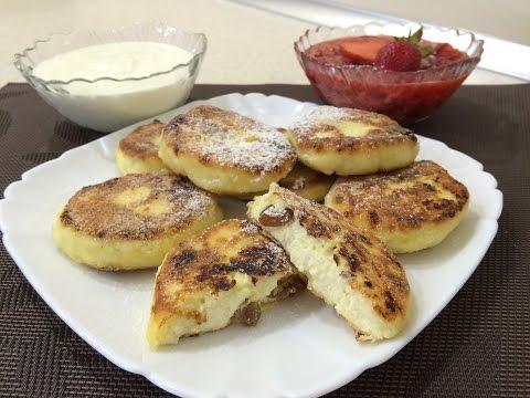 Вкуснейшее блюдо Сырники творожные - очень вкусный домашний рецепт