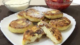 Сырники творожные - очень вкусный домашний рецепт!