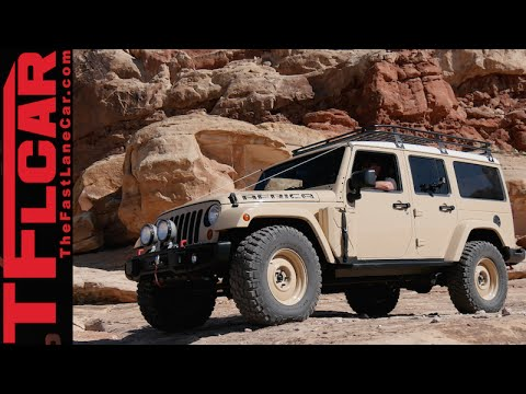 Jeep Africa Concept: Land Rover Defender's long lost Brother