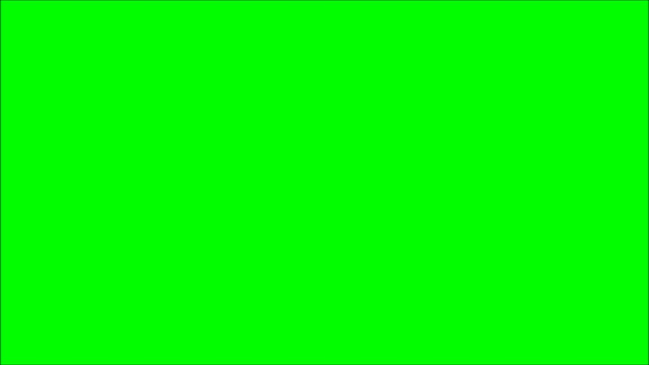 A Blank GREEN Screen that lasts 10 hours in Full HD, 2D, 3D, 4D