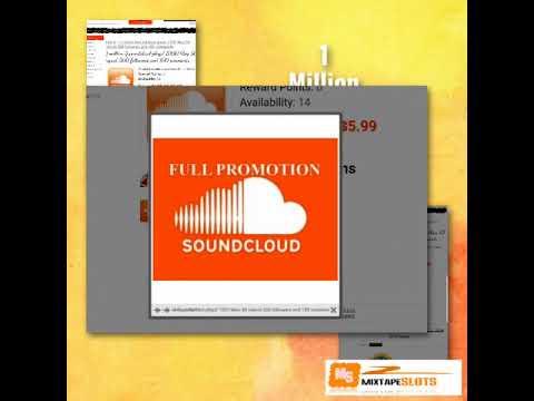 1 Million Soundcloud On-sale $5 99