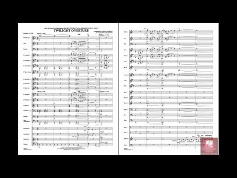 Twilight Overture by Carter Burwell/arr. Michael Brown