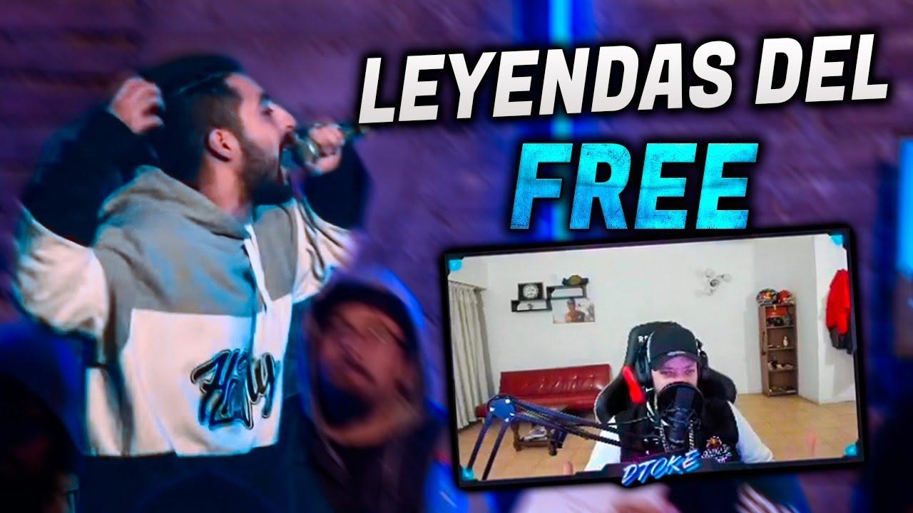 DTOKE Y MUPHASA REACCIONAN A LO MEJOR DE LEYENDAS DEL FREE PARTE 2
