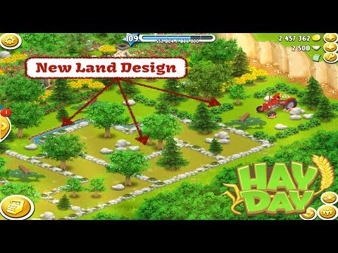 Hay Day - New Land Design - The Water Park - Part One