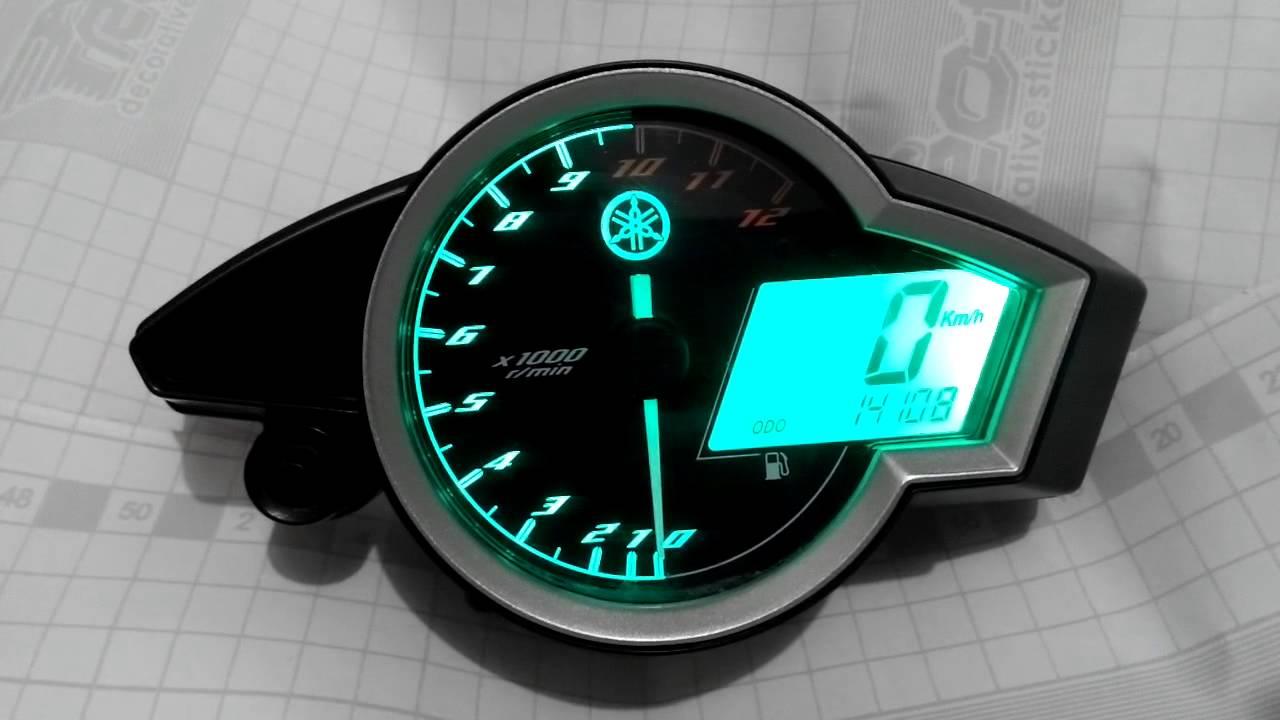 Custom Backlight Speedometer Yamaha New Vixion