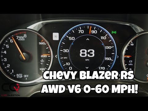 Chevrolet Blazer RS Acceleration test | 0-60 Mph / 0-100 Km/h | is it FAST?