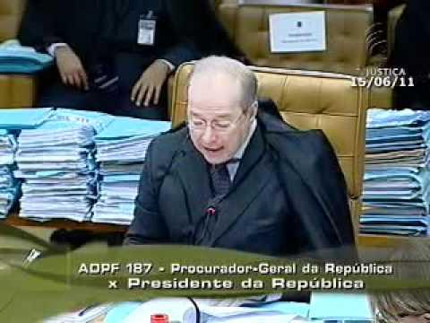 MARCHA DA MACONHA. Celso de Mello (relator). Aspectos preliminares na íntegra.