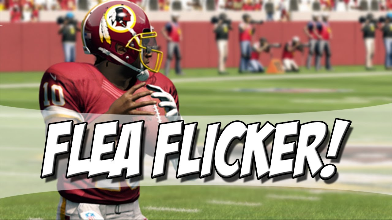 Is the flea flicker in madden 17