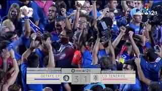 Resumen de Getafe CF vs CD Tenerife (3-1)