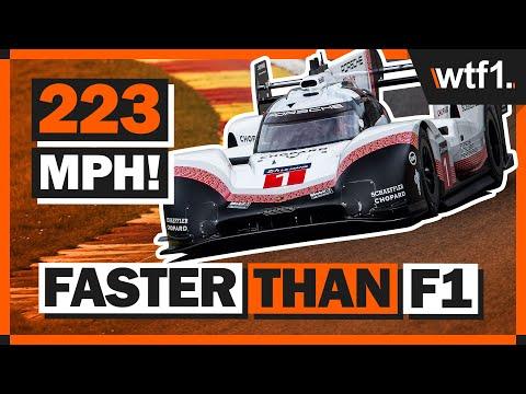 What Makes Porsche's 1160hp F1-Beating LMP1 Car So Fast?