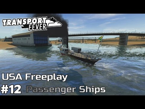 Passenger Ships [1903] - Transport Fever [USA Freeplay] [ep12]