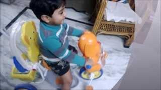 Funny Baby Sankeerth Dhoom Stunt