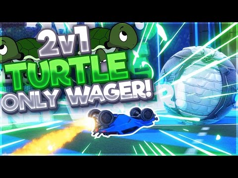 $150 2V1 TURTLE ONLY WAGER (Rocket League)