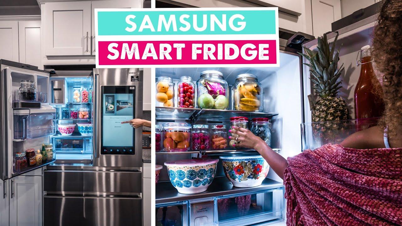 Image result for samsung smart fridge