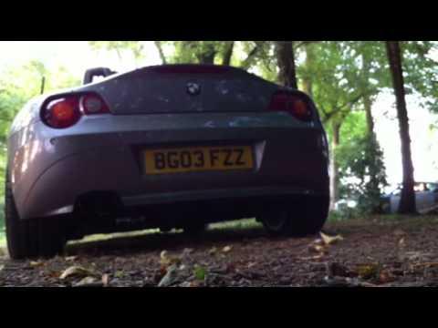 Bmw Z4 Custom Exhaust Sound Youtube