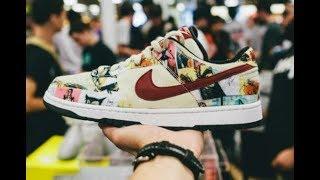 Nike Paris SB Dunk CUSTOM!!!