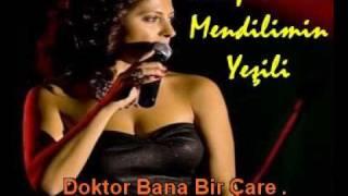 Serap Yenici - Mendilimin Yeşili - (Sözlü Karaoke)