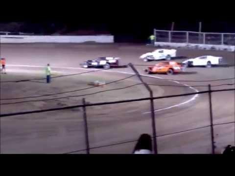 Creek County Speedway Modified Main 09/27/14