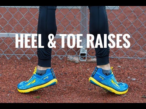 HEEL & TOE RAISES