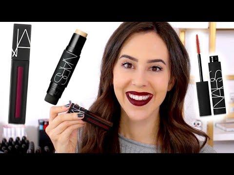 TESTING NARS || FAIL || Powermatte Lip Pigment, Velvet Matte Foundation Stick & Audacious Mascara