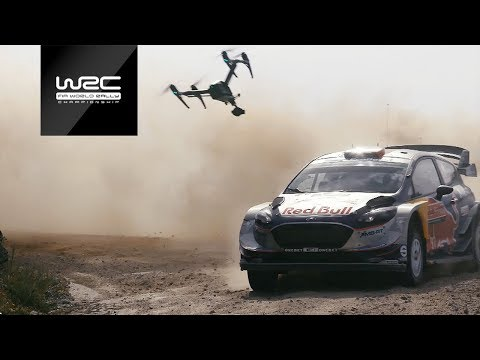 A winning Partnership: WRC & DJI