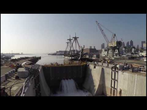 Dry Dock 1, Charlestown Navy Yard, Boston National Historical Park