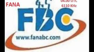 RADIO FANA ETHIOPIA 6110 KHz