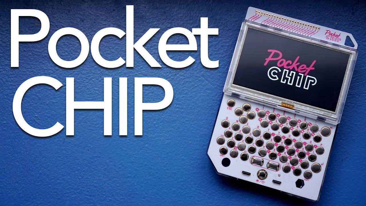 $70 Handheld Computer? | PocketCHIP Review