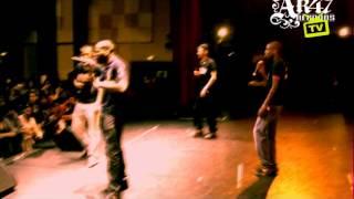 RAPPEUR 2 BAZE ET ZIKA EN CONCERT [EAUBONNE SESSION 2010] AK47 RECORDS