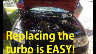Audi DIY: $70 Used Turbo Fixed my Boost/Vacuum & Exhaust Leak on B6 2002 A4