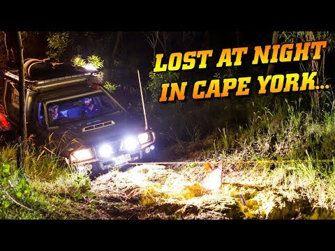MIDNIGHT RUN in Cape York! We lost the track...