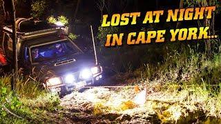 MIDNIGHT RUN in Cape York! We lost the track...