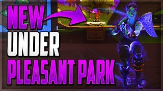 GLITCHES FORTNITE BATTLE ROYALE - NEW UNDERGROUND WALLBREACH PLEASANT PARK (GLITCH FORTNITE BR 2018)