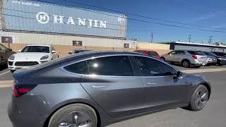 Tesla Model 3 Tinted in Madico Nano Ceramic Film (OC TINT SOLUTIONS)