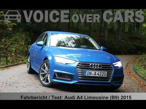 2015 Audi A4 (B9) Fahrbericht Test Review Technische Daten und Impressionen von Venedig