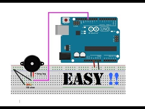 How to connect A buzzer to Arduino